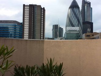 Render cleaning, stain removal from wall with pressure wash in london from purple-rhino.co.uk