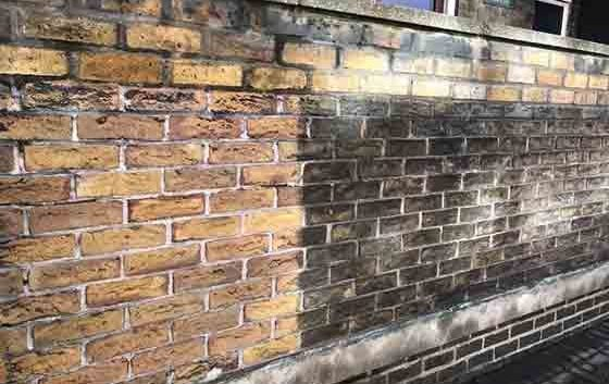 Professional Brick Cleaning Services | Purple-Rhino co uk