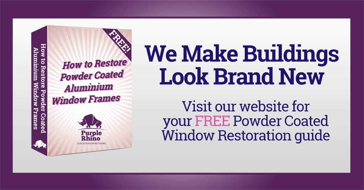 Window Frame Restoration Services   Purple-Rhino.co.uk