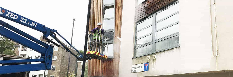 Render Cleaning Aberystwyth