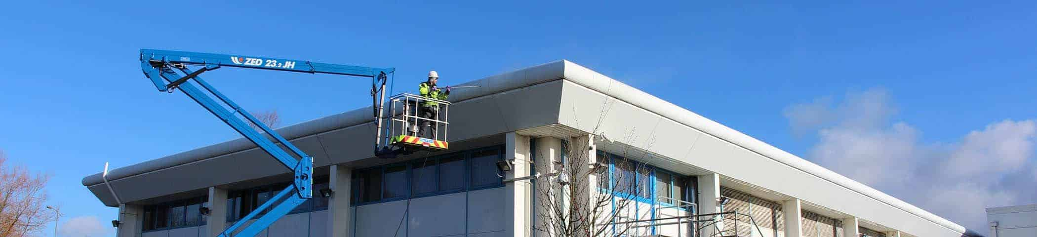 Cladding Cleaning Services header
