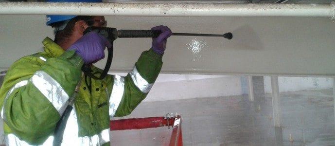 Warehouse Pressure Washing