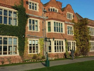 cleaning-windows-at-queen-ethelburgas-college-york-from-purple-rhino.co.uk