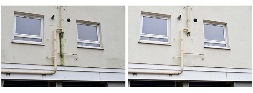 block of flats render cleaning