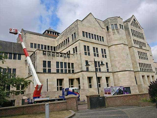 portland stone cleaning