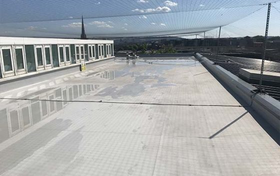 Epdm Membrane Roof Cleaning Services Purple Rhino Co Uk