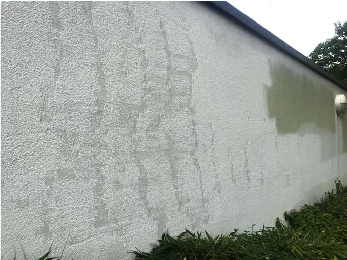 Pressure Washed Render