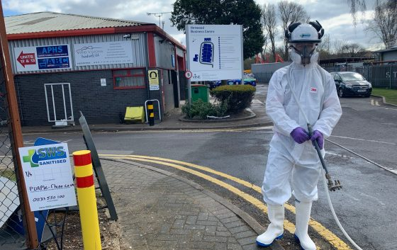 Exterior Decontamination Employee